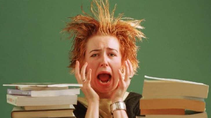 Стресс егэ